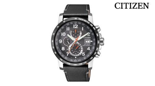 Orologio Cronografo Citizen H800 Sport AT8124-08H, modello con cassa in acciao