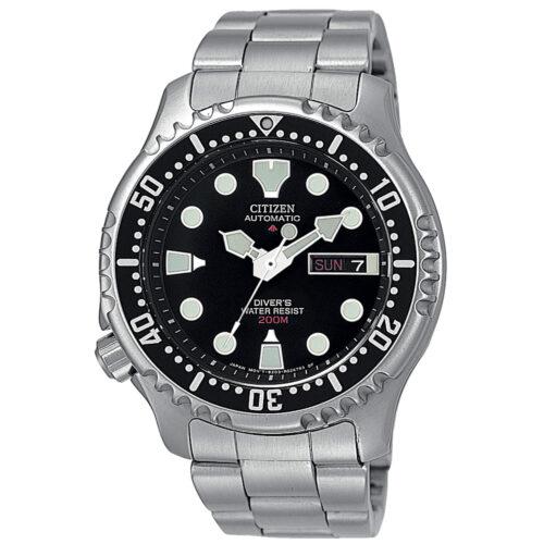 Orologio Solo Tempo Citizen Promaster NY0040-50E modello Diver's professionale 6425 con movimento meccanico a ricarica automatica