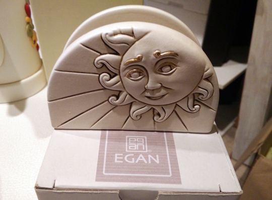 Portatovaglioli Egan Sole Luna