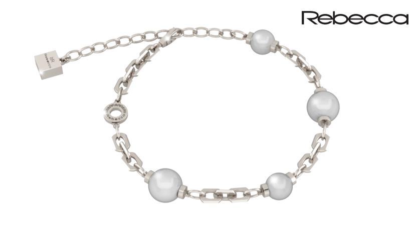Il bracciale Rebecca bronzo e perle è uno dei punti di forza di uno dei brand di gioielli italiani che punta tutto sul design e l'originalità