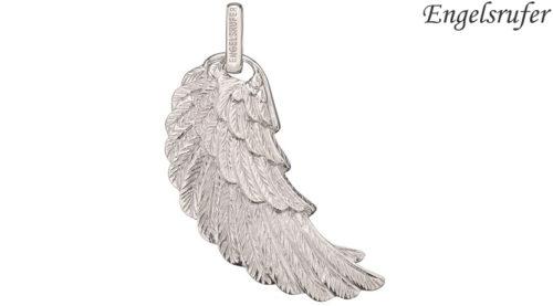 Ciondolo Ala Engelsrufer Argento realizzato in argento 925 rodiato con occhiello, raffigurante l'ala di un angelo. Disponibile nelle dimensioni S (23 mm) - M (29 mm) - L (45 mm).