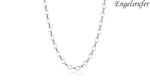 Collana in argento Engelsrufer lunga 70 cm a catenina con chiusura a moschettone. Referenza ERN-70-A