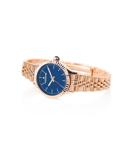 orologio luxury gold blu