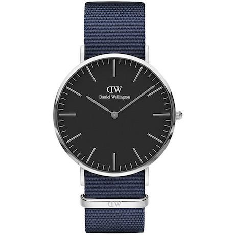 Orologio Daniel Wellington Bayswater solo tempo uomo DW00100278