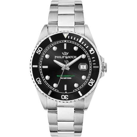 Orologio Philip Watch Caribe solo tempo uomo R8253597046