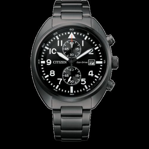Orologio Citizen CA7047-80E ,Orologio uomo Cronografo analogico in EcoDrive . Realizzato in Acciaio Inossidabile con cassa nera e il suo diametro è di 41. La lughezza del cinturino é di 153. Resistenza dell'acqua 10 Bar.