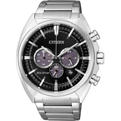 Orologio Citizen CA4280-53E . Orologio Citizen Da Uomo. Movimento Eco-Drive. Cronografo. Cassa e bracciale sono realizzati in acciaio. La resistenza all'acqua di 10 Atm, Diametro Cassa 43 Mm.