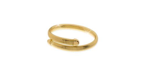 Bracciale donna Unoaerre 000EXB4160000 della collezione Bronze. Bracciale gold flessibile contrarie' a tubo gas mis. 18. Fa parte della serie di Gioielli Unoaerre fashion Jewellery.