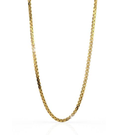 Collana Donna Unoaerre 000EXH4574000G della collezione Bronze. Collana lunga in bronzo Gold lunga 89 cm con forzatina diamantata . Fa parte della serie di Gioielli Unoaerre fashion Jewellery.