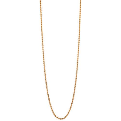 Collana Donna Unoaerre 000EXH4724000 della collezione Bronze. Collana gold misura 92 cm , modello a corda ad un filo con chiusura moschettone .Questo modellofa parte della serie di Gioielli Unoaerre fashion Jewellery.