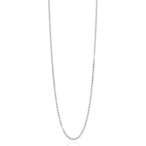 Collana Donna Unoaerre 000EXH4724000B della collezione Bronze. Collana in bronzo silver misura 92 cm , modello a corda ad un filo con chiusura moschettone .Questo modellofa parte della serie di Gioielli Unoaerre fashion Jewellery.