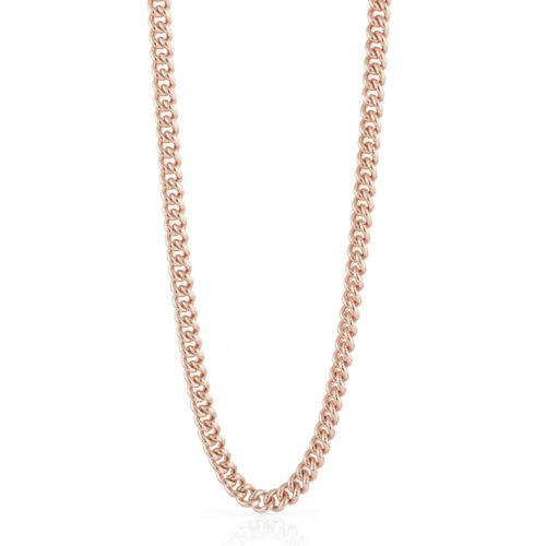 Collana Donna Unoaerre 000EXH4754000 della collezione Bronze. Collana lunga in bronzo rosè , modello a catena grumetta, lunghezza mis. 82. Fa parte della serie di Gioielli Unoaerre fashion Jewellery.