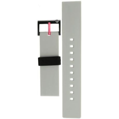Cinturino per orologio SMILE SOLAR 59-PB0956J unisex in gomma colore bianco