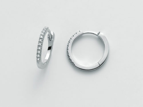 Orecchini Yukiko cerchietti Diamante ERD2334Y-011G7