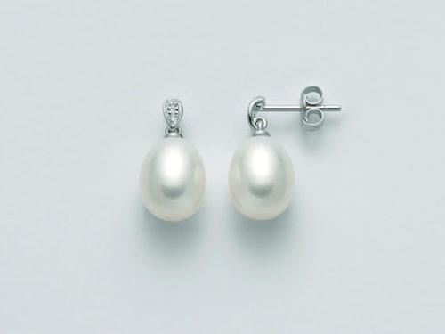 Orecchini Yukiko Perle Donna PER2351Y in oro, perle e diamanti.