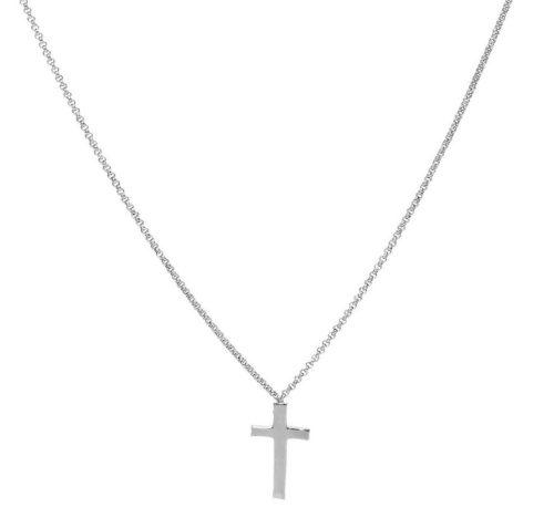 Collana Amen unisex CLCB4. Collana della collezione Croci, in argento 925 con elemento a forma di croce