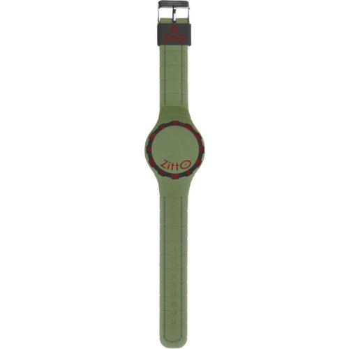 Orologio Multifunzione Regular Unisex SQUBA-04 della collezione Squba Zitto. Modello con cassa di forma rotonda del diametro di 44 cm. Display A Led e cinturino in gomma di colore verde militare. Modello con batteria non ricaricabile e la sua resistenza all'acqua è di 10 atm. Presenza anche il datario.