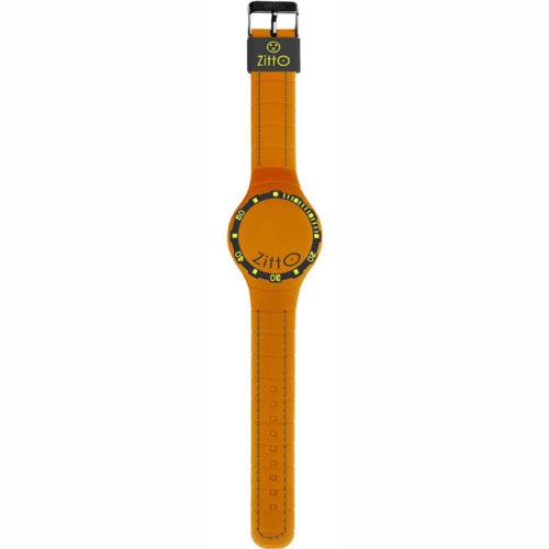 Orologio Multifunzione Regular Unisex SQUBA-02 della collezione Squba Zitto. Modello con cassa di forma rotonda del diametro di 44 cm. Display A Led e cinturino in gomma di colore arancione. Modello con batteria non ricaricabile e la sua resistenza all'acqua è di 10 atm. Presenza anche il datario.