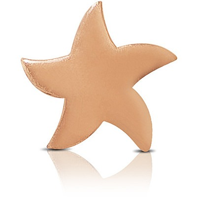 Charm Kulto925 Donna KC925-073 della collezione always with me. Gioiello a forma di stella marina realizzato in argento 925 con finitura rosè. Scegli i charms che preferisci e personalizza il tuo gioiello Kulto925.