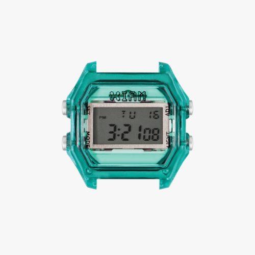 Orologio Digitale Iam IAM-019. Orologio con cassa medium in policarbonato di colore verde acqua con pulsanti grigi