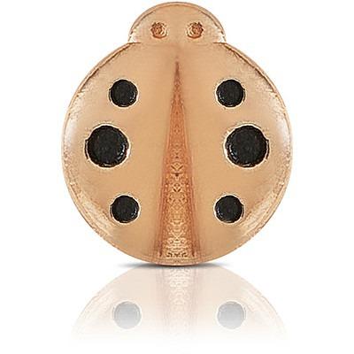 Charm Kulto925 Donna KC925-061 della collezione always with me. Gioiello a forma di coccinella realizzato in argento 925 con finitura rosè. Scegli i charms che preferisci e personalizza il tuo gioiello Kulto925.
