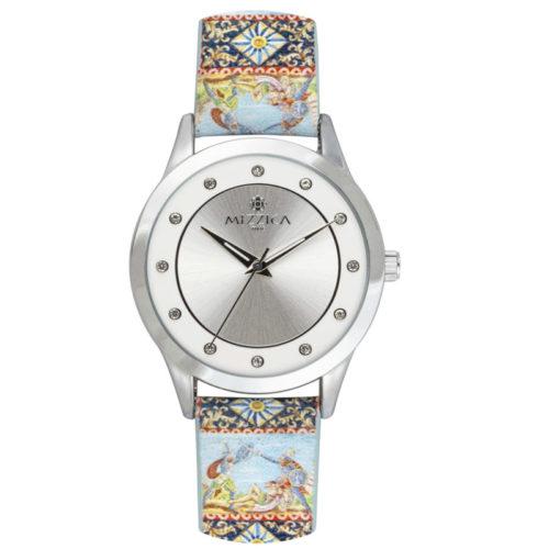 Orologio Donna Mizzica MA103 della collezione I Cavalieri. L'essenza di Mizzica è la combinazione tra arte siciliana, design e creatività.