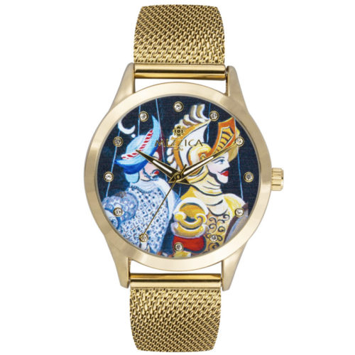 Orologio Donna Mizzica MC111 della collezione I Pupi. L'essenza di Mizzica è la combinazione tra arte siciliana, design e creatività.