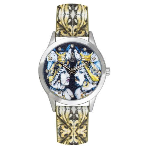 Orologio Donna Mizzica MB112 della collezione Il Moro. L'essenza di Mizzica è la combinazione tra arte siciliana, design e creatività.