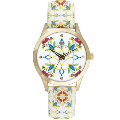 Orologio Donna Mizzica MB106 della collezione Il Puntale. L'essenza di Mizzica è la combinazione tra arte siciliana, design e creatività.