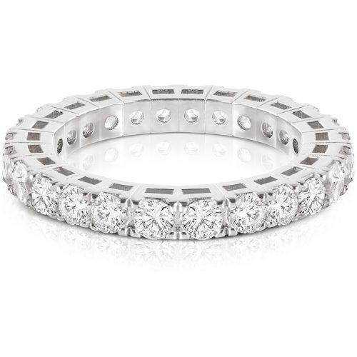 Anello Kulto925 Donna KR925-001-16. Gioiello realizzato in argento 925 con zirconi. La misura di questo anello è 16.