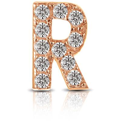 Charm Kulto925 Donna KC925-044 della collezione always with me. Gioiello realizzato in argento 925 in rosè lettera R, impreziosita da zirconi. Scegli i charms che preferisci e personalizza il tuo gioiello Kulto925.