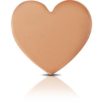 Charm Kulto925 Donna KC925-048 della collezione always with me. Gioiello a forma di cuore realizzato in argento 925 con finitura rosè. Scegli i charms che preferisci e personalizza il tuo gioiello Kulto925.