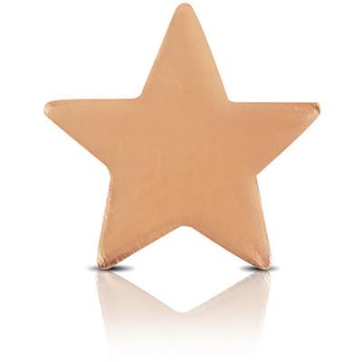 Charm Kulto925 Donna KC925-054 della collezione always with me. Gioiello a forma di stella realizzato in argento 925 con finitura rosè. Scegli i charms che preferisci e personalizza il tuo gioiello Kulto925.