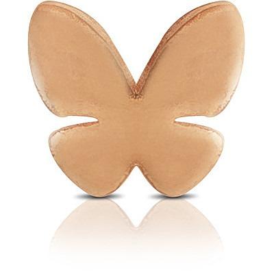 Charm Kulto925 Donna KC925-062 della collezione always with me. Gioiello a forma di farfalla realizzato in argento 925 con finitura rosè. Scegli i charms che preferisci e personalizza il tuo gioiello Kulto925.