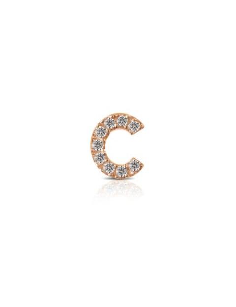 Charm Kulto925 Donna KC925-029 della collezione always with me. Gioiello realizzato in argento 925 in rosè lettera C, impreziosita da zirconi. Scegli i charms che preferisci e personalizza il tuo gioiello Kulto925.