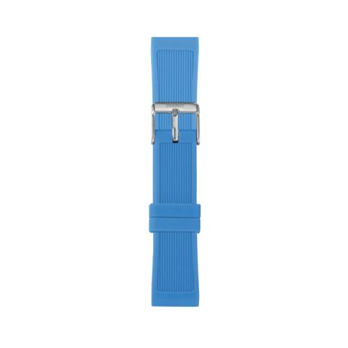 Cinturino Orologio Iam IAM-211. Cinturino medium per orologio Iam realizzato in silicone di colore blu con fibbia in acciaio.