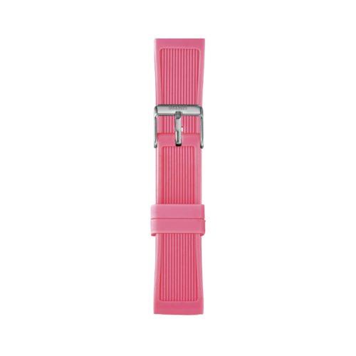 Cinturino Orologio Iam IAM-214. Cinturino medium per orologio Iam realizzato in silicone di colore fucsia con fibbia in acciaio.