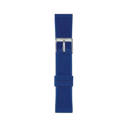 Cinturino Orologio Iam IAM-219. Cinturino medium per orologio Iam realizzato in silicone di colore blu acceso con fibbia in acciaio.