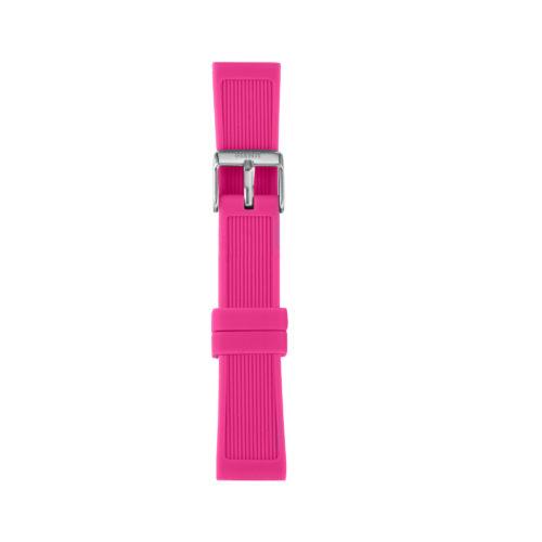 Cinturino Orologio Iam IAM-209. Cinturino medium per orologio Iam realizzato in silicone di colore fucsia con fibbia in acciaio.