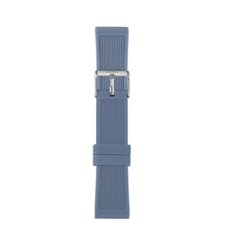 Cinturino Orologio Iam IAM-315. Cinturino large per orologio Iam realizzato in silicone di colore carta da zucchero con fibbia in acciaio.