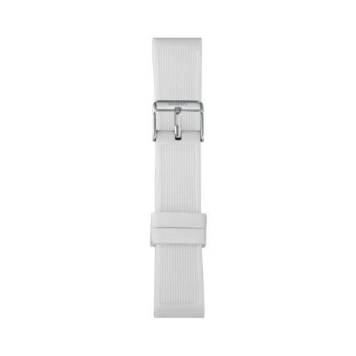 Cinturino Orologio Iam IAM-305. Cinturino large per orologio Iam realizzato in silicone di colore bianco con fibbia in acciaio.