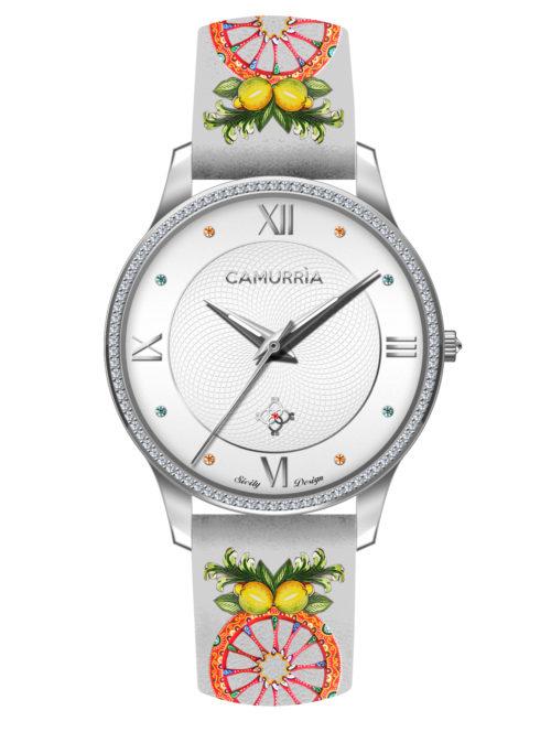 """Orologio Camurrìa CW15ST3 della collezione """"A Rota""""."""