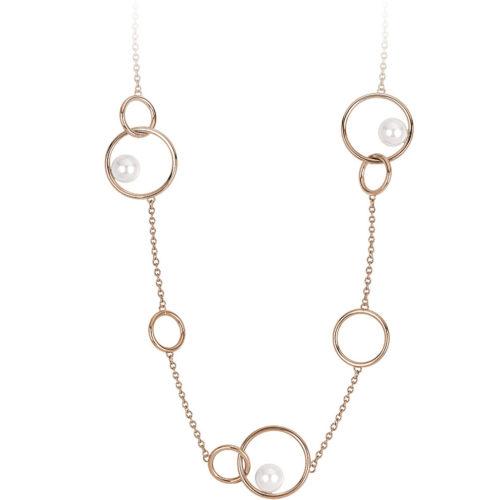 Collana 2Jewels 251691 della collezione Pearl Planet. Collana realizzata in acciaio anallergico rosè con perle applicate. Questa collana viene spedita con scatola originale 2Jewels.