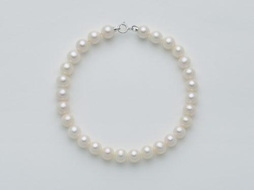 Bracciale Yukiko PBR2215Y in oro con perle. Lunghezza: 17 cm.
