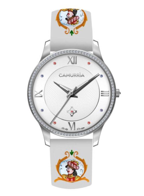 """Orologio Camurrìa CW18ST3 della collezione """"I Suddati""""."""