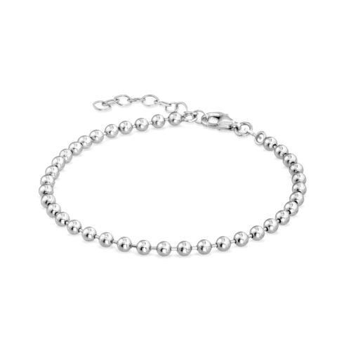 Bracciale Donna Rerum 22002in argento 925. Misura 16,5 cm + 3 cm di estensione grazie alla chiusura regolabile a moschettone.