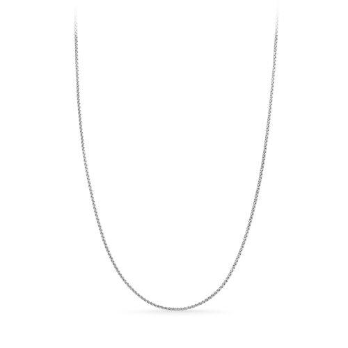 Collana Donna Rerum 23000 in argento 925. Misura 42 cm + 5 cm di estensione grazie alla chiusura regolabile a moschettone.