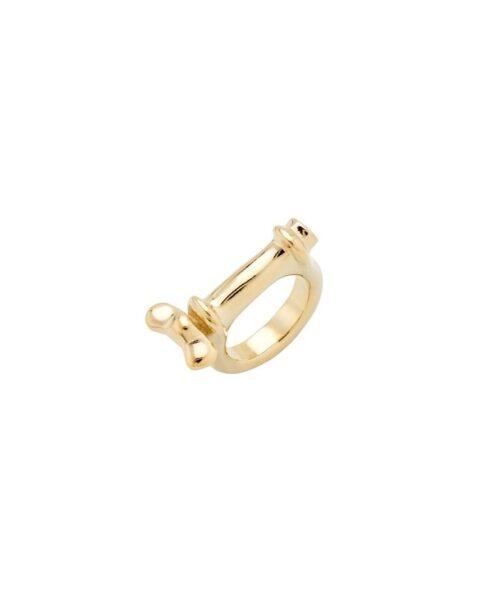 Anello Donna Uno de 50 ANI0660ORO00015 della collezione Reward. Anello in metallo bagnato nell'argento con placcatura oro. Gioiello 100% realizzato a mano da UNOde50, Spagna. Misura 15.