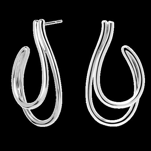 Orecchini Donna PDPAOLA AR02-199-U. Orecchini in argento sterling 925. Lunghezza: 4,5 cm. Sistema di chiusura: a chiodo.
