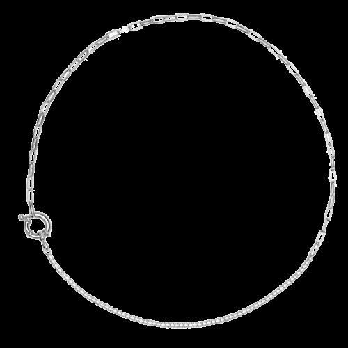 Collana Donna PDPAOLA CO02-082-U. Collana in argento sterling 925 con zirconi. Lunghezza 39 cm.